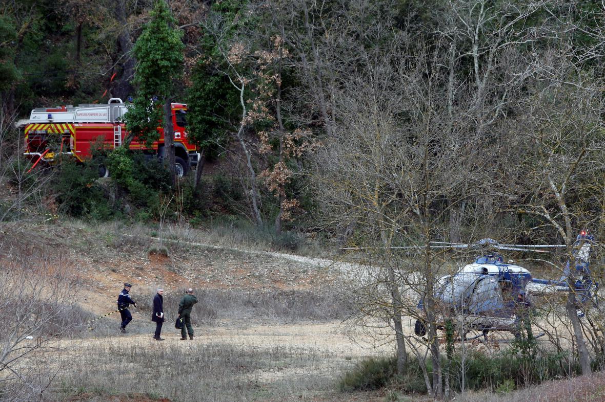 Vyšetřování srážky vrtulníků v Carcès