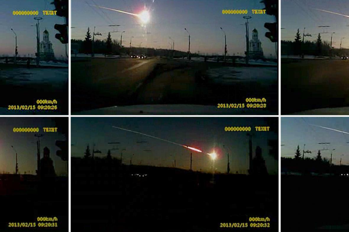 Čeljabinský meteor