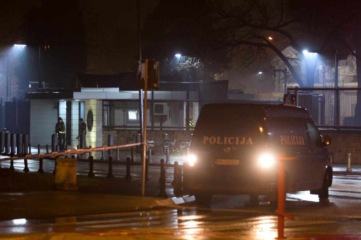 Útok na americké velvyslanectví v Podgorici