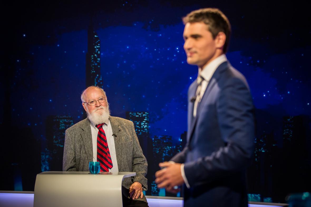 Daniel Dennett a Daniel Stach