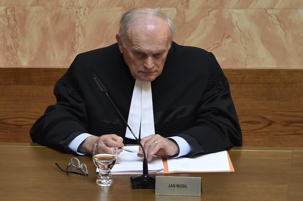 Ústavní soudce Jan Musil