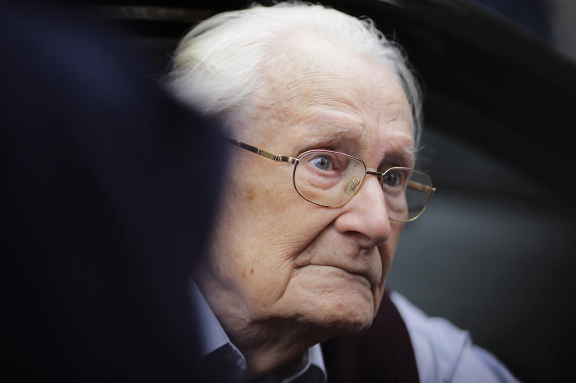 Bývalý člen SS Oskar Gröning