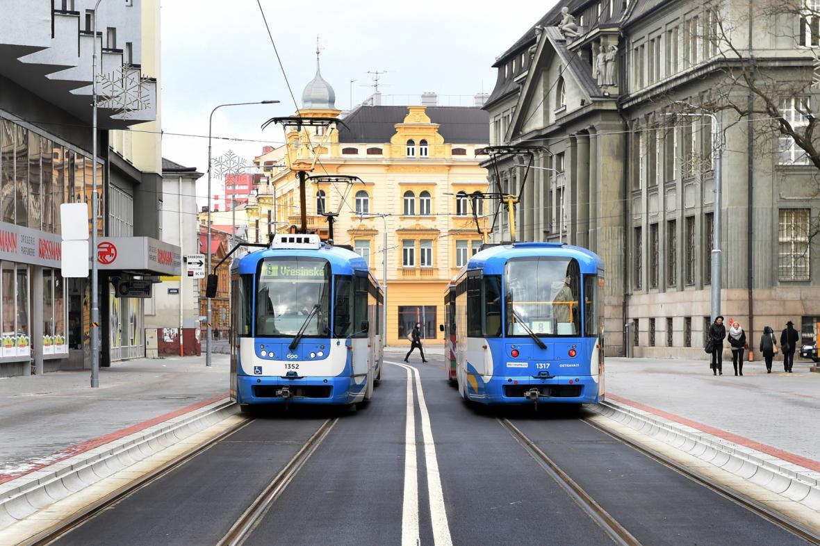 Městská hromadná doprava v Ostravě