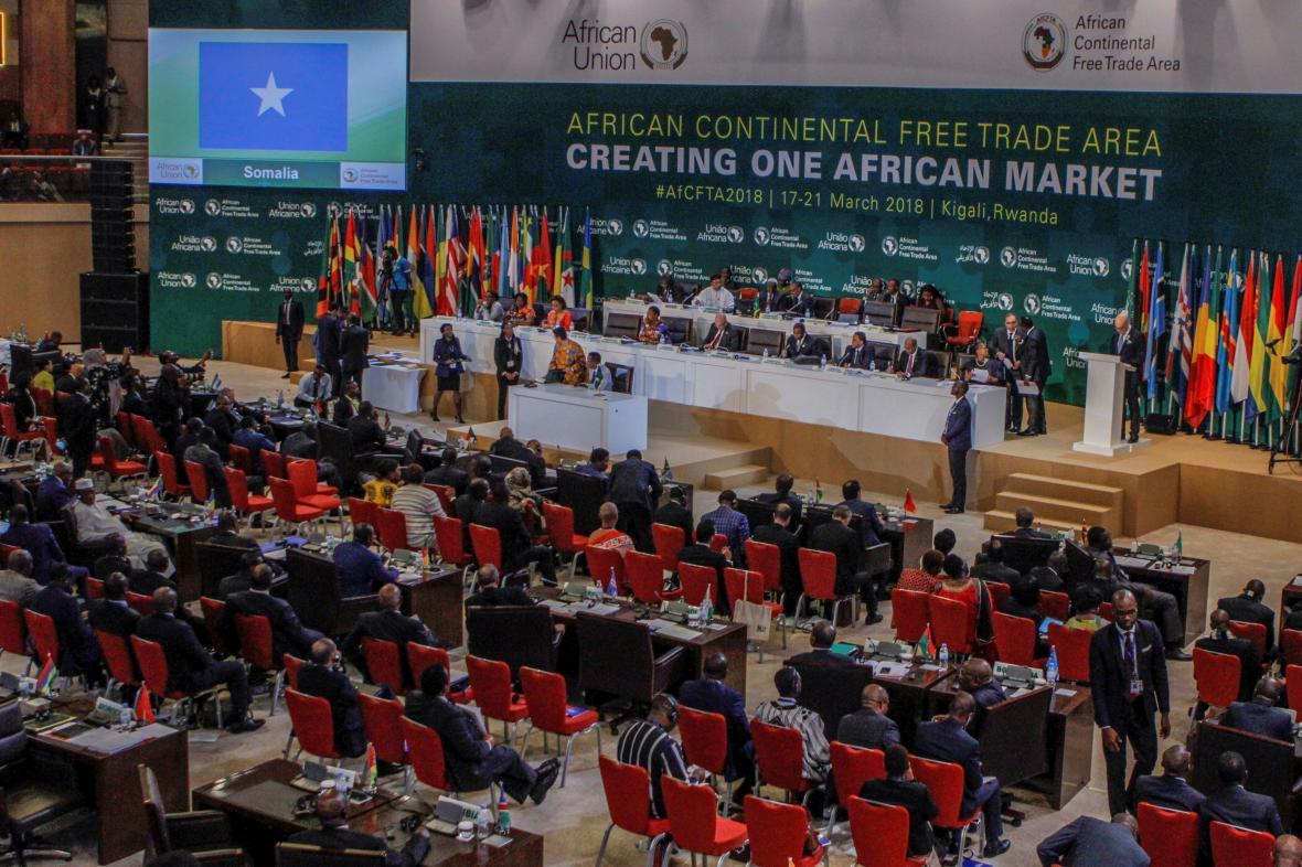 Zástupci afrických států podepsali dohodu o volném obchodu