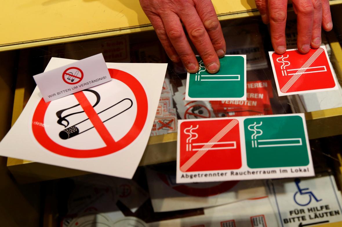 Rakouské protikuřácké značky