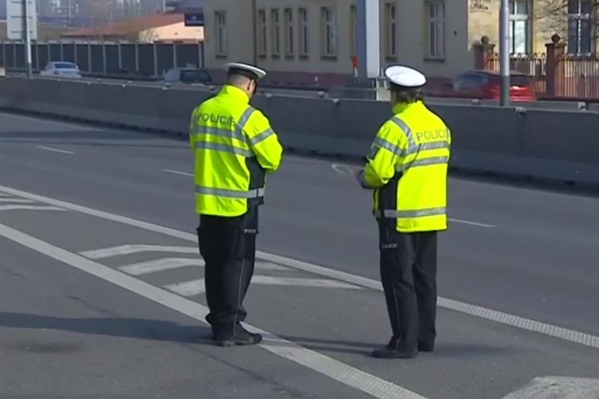 Policejní akce v Ostravě