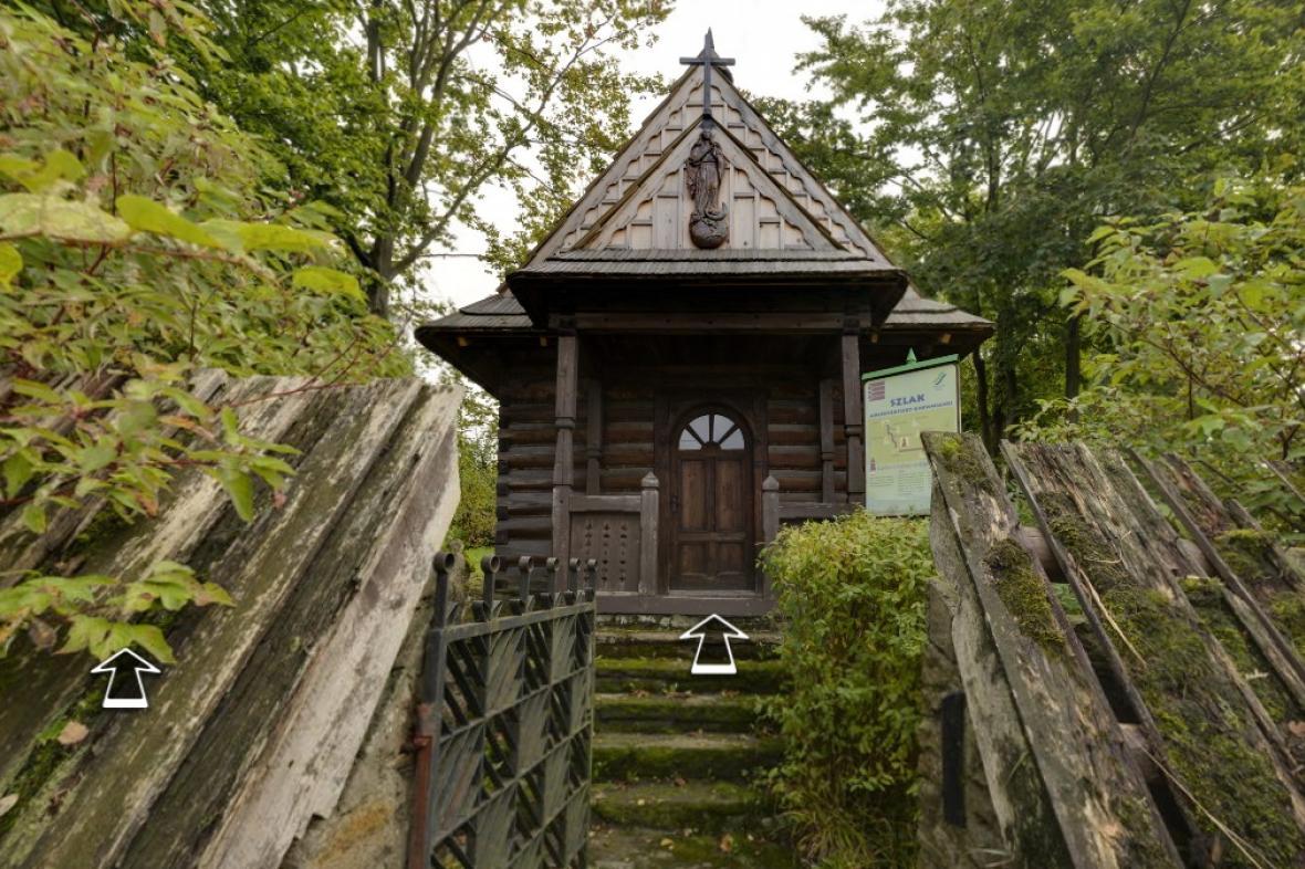 Virtuální prohlídka Kaple Panny Marie Královny Polské Koruny