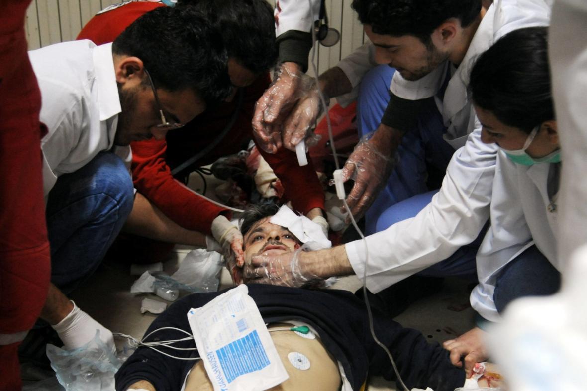 Chemický útok v Dúmá