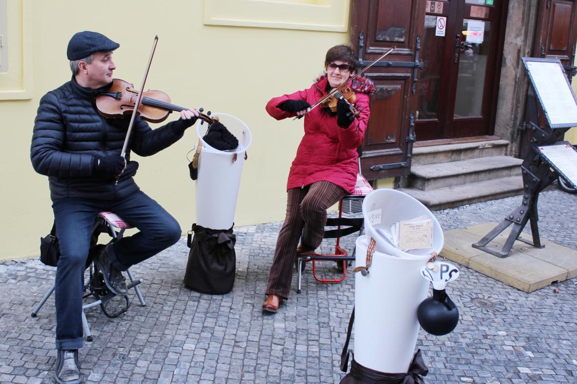 Pouliční umělci
