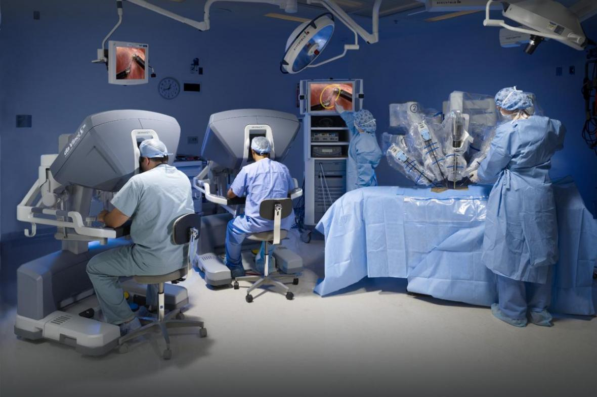 Operační robot Da Vinci