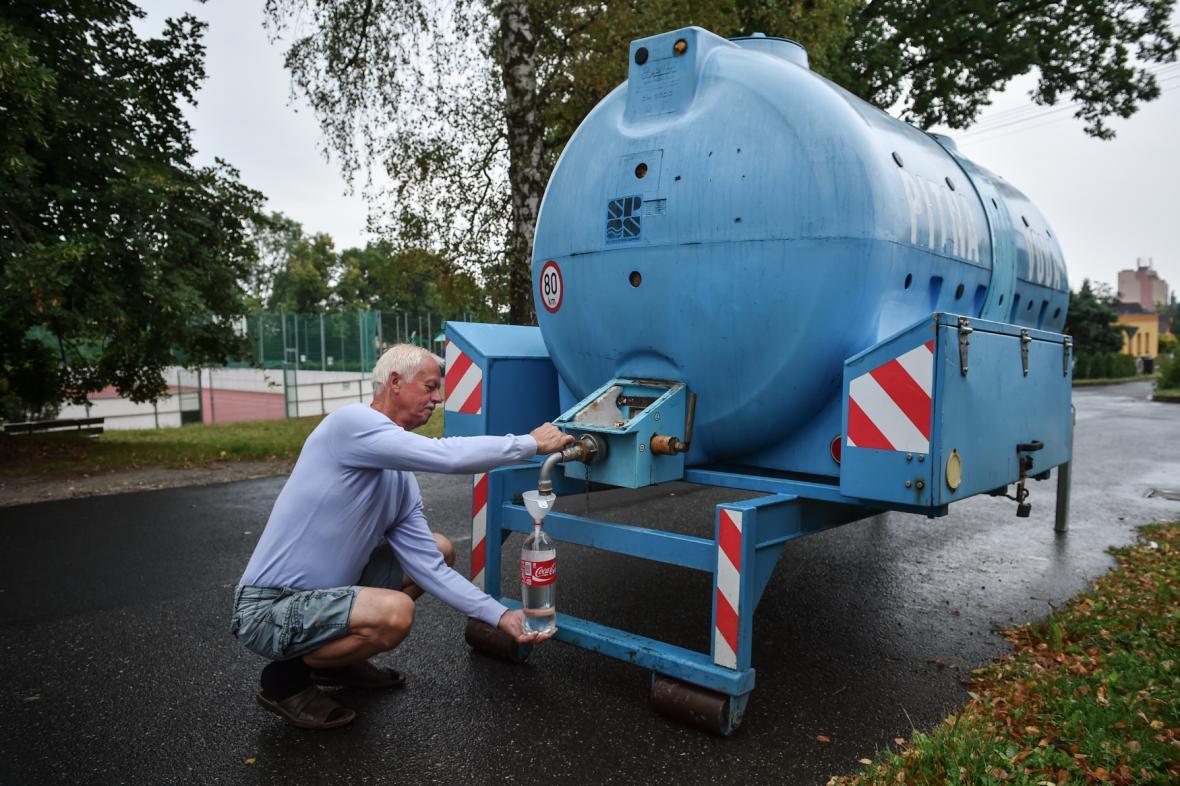 Voda z cisterny
