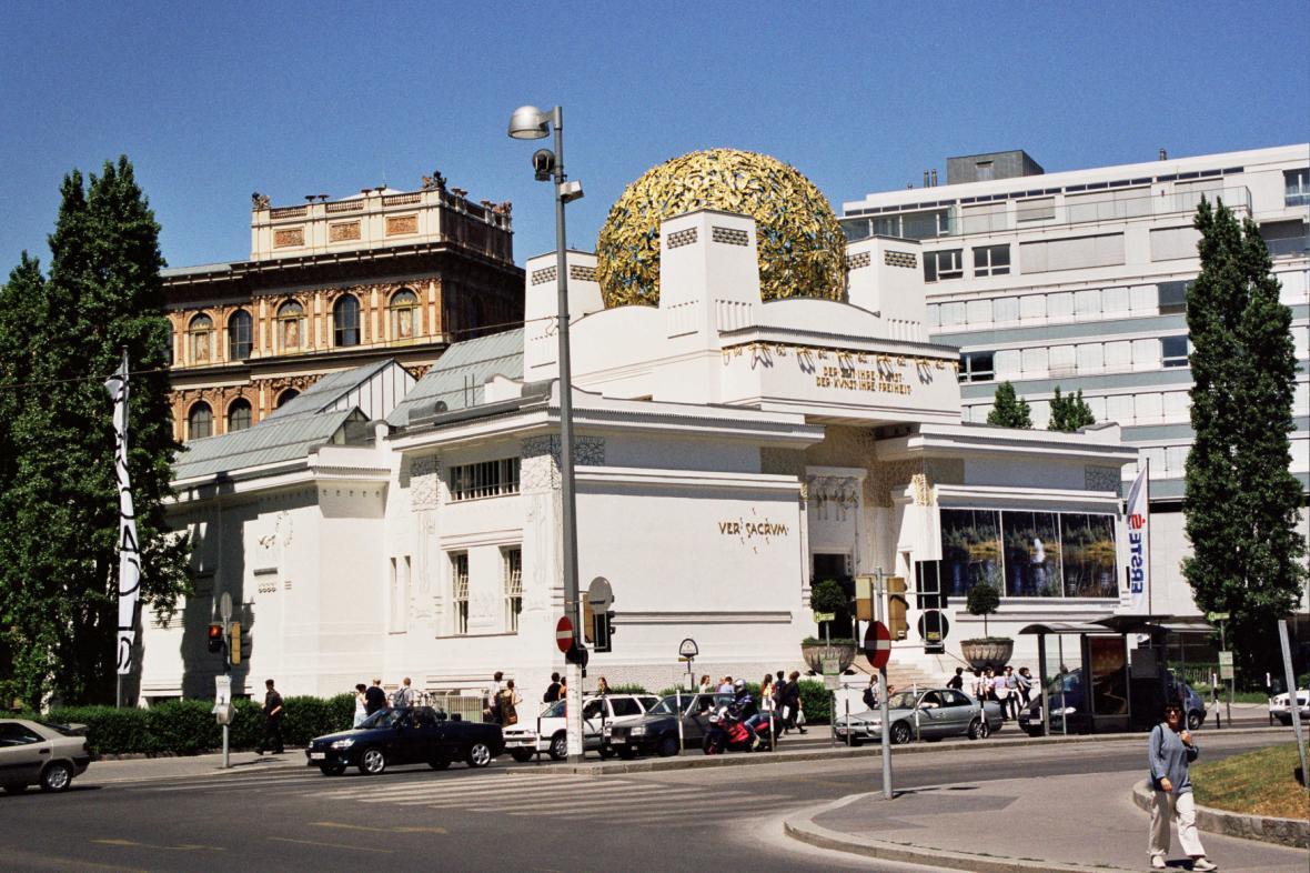 Vídeňský pavilon Secese