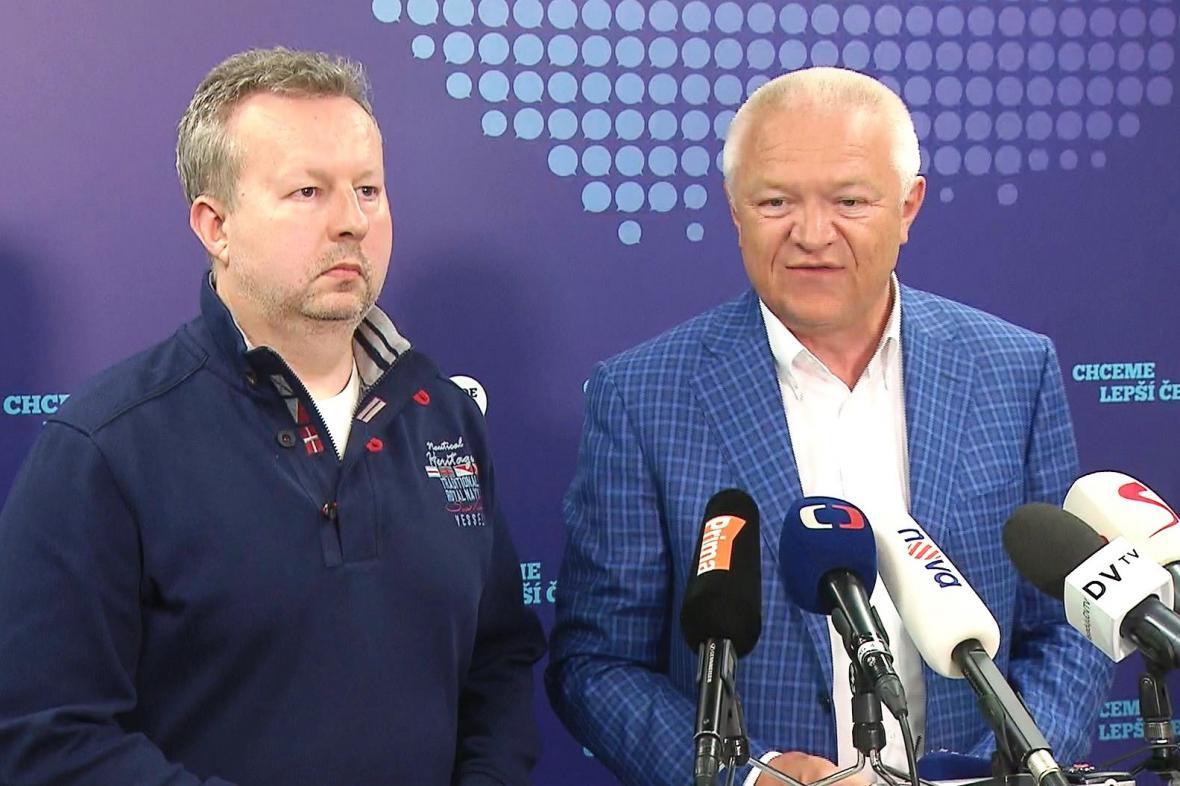 Richard Brabec a Jaroslav Faltýnek