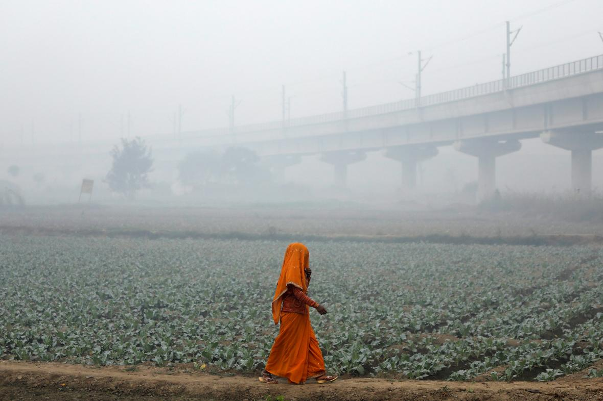 Dillí je nejvíce znečištěným městem světa