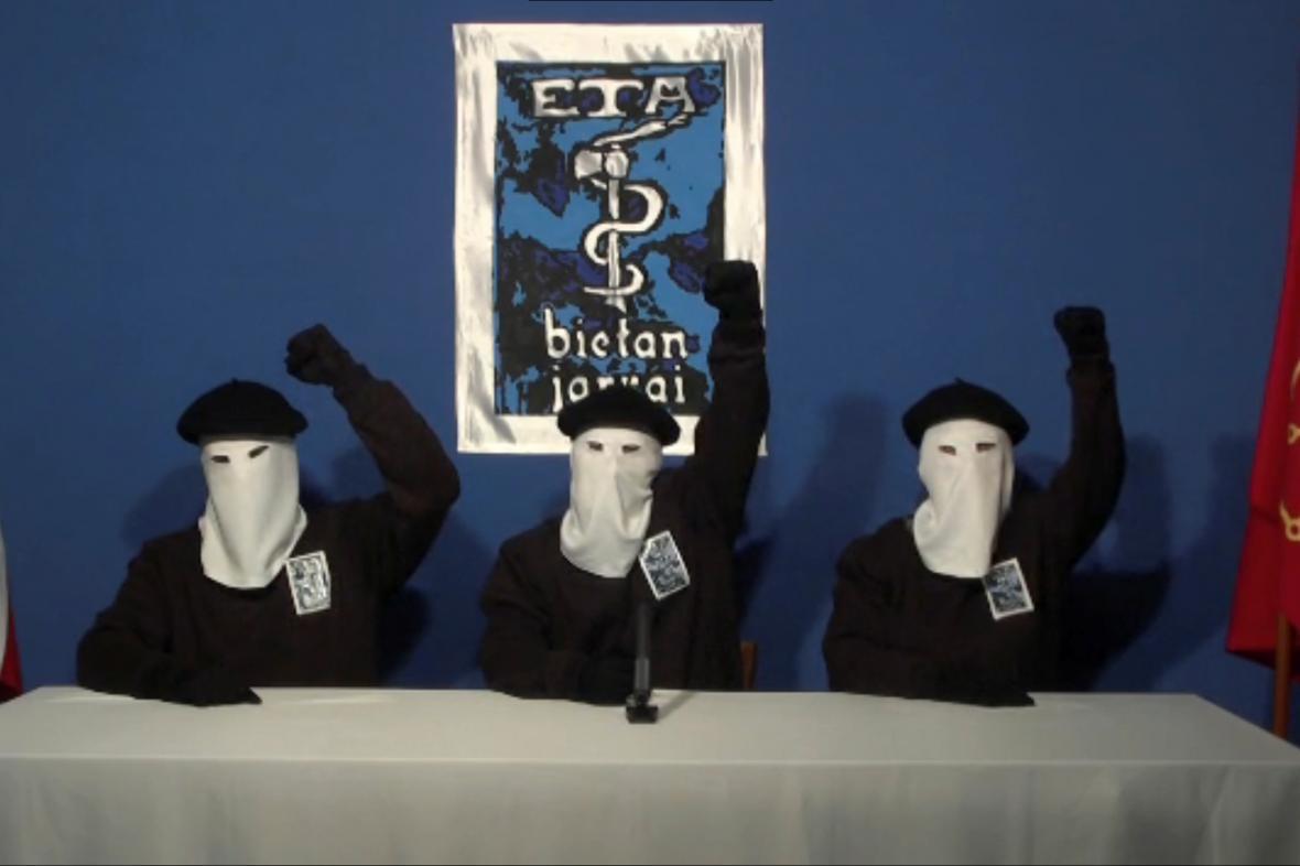 Členové skupiny ETA na snímku z roku 2011