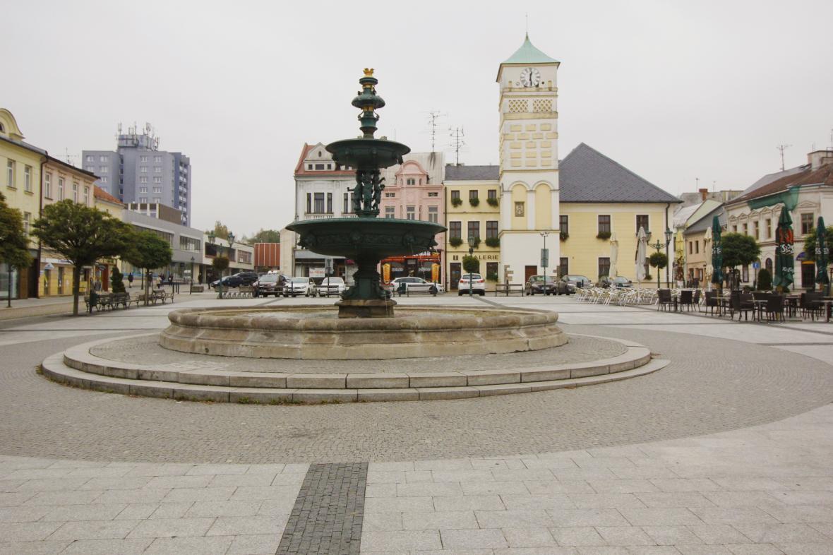 Masarykovo náměstí v Karviné
