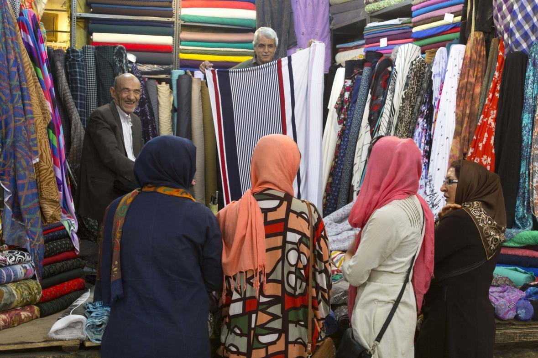 Bazar v Shirazu