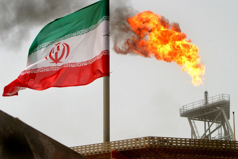 Ropné pole v Íránu