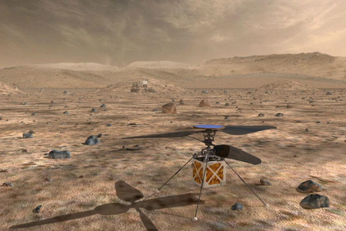 Vrtulníček pro Mars
