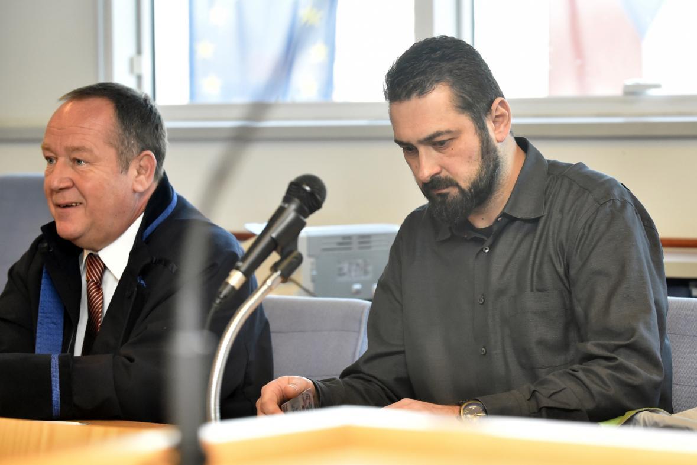 Roman Čechmánek u soudu