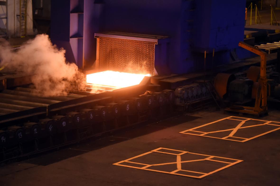 Válcovna společnosti Vítkovice Steel