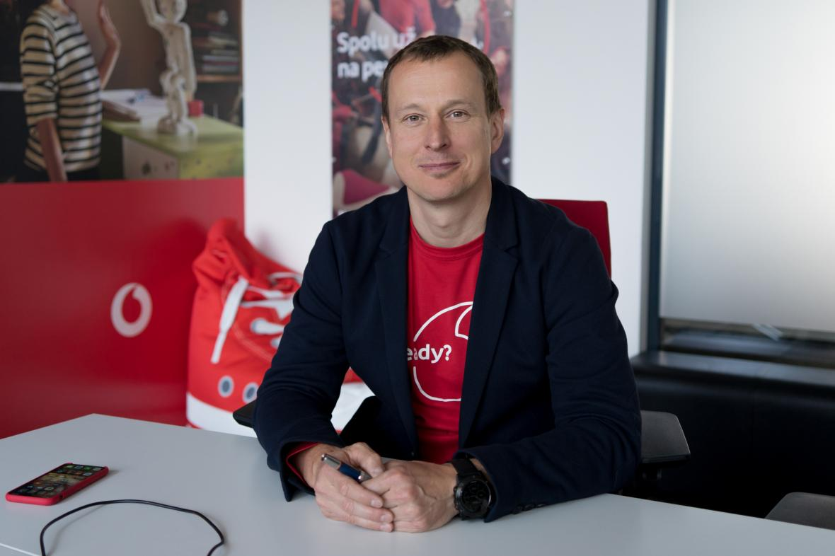 Generální ředitel Vodafone ČR Petr Dvořák