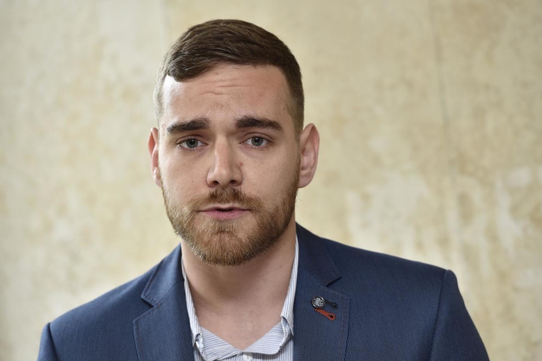 Poslanec za Pirátskou stranu Tomáš Vymazal