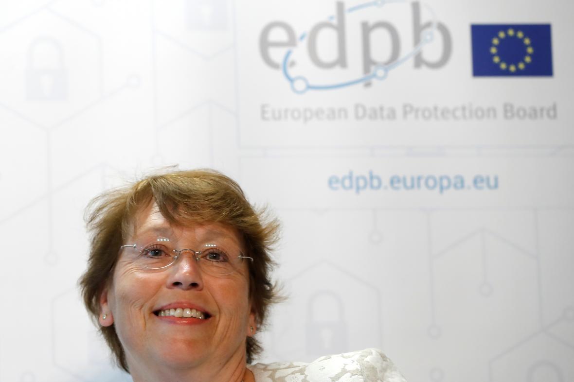Šéfka evropského úřadu pro ochranu dat Andrea Jelinek