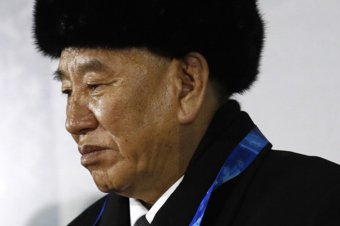 Kim Jong-čchol na ZOH 2018