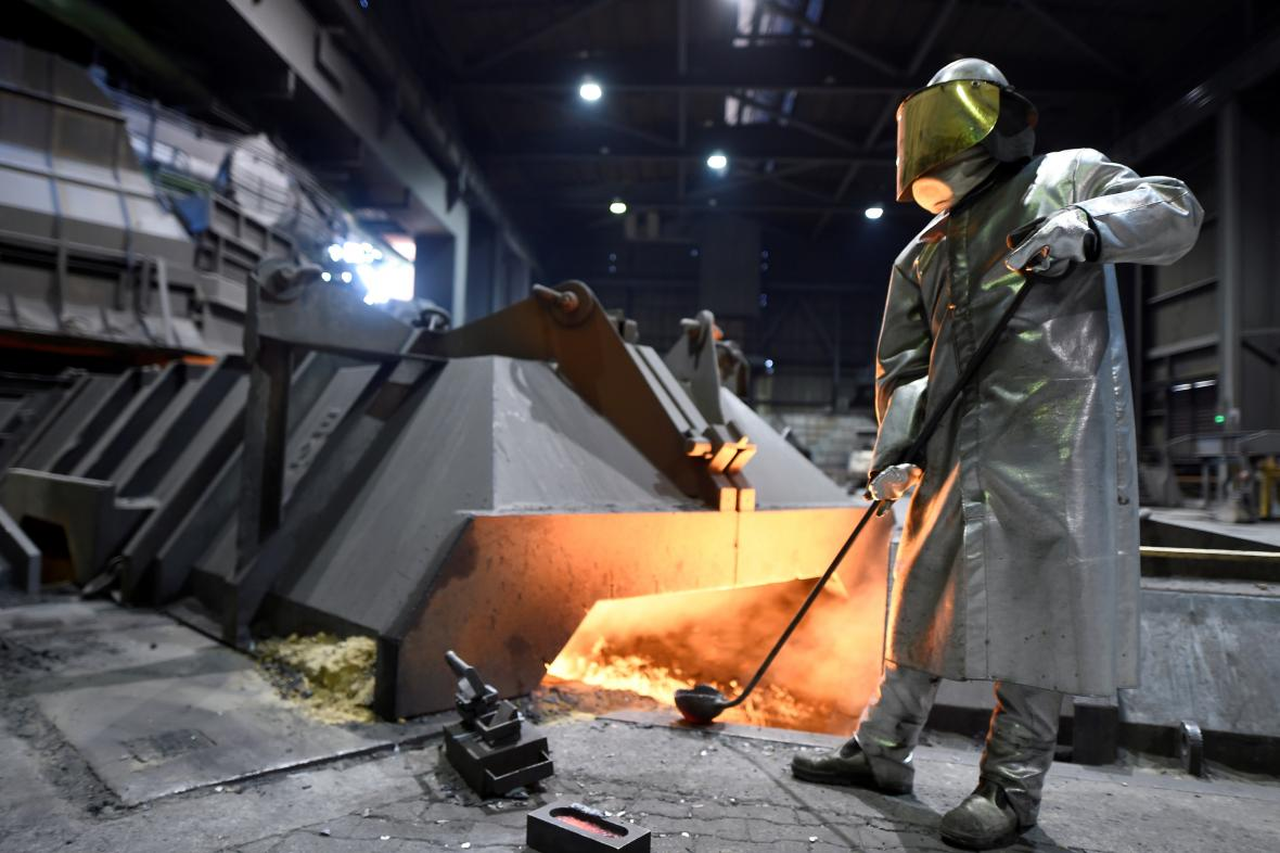 Německá ocelárna Salzgitter AG