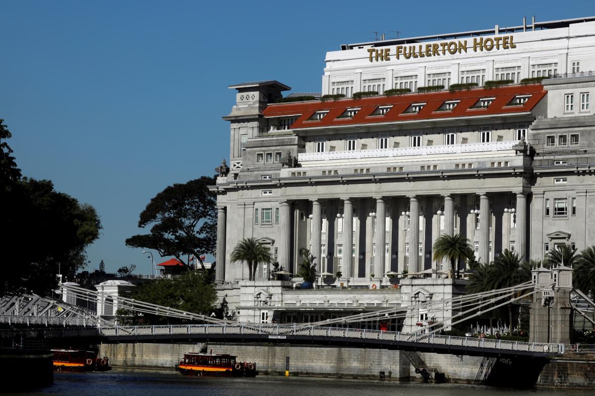 Singapurský hotel Fullerton
