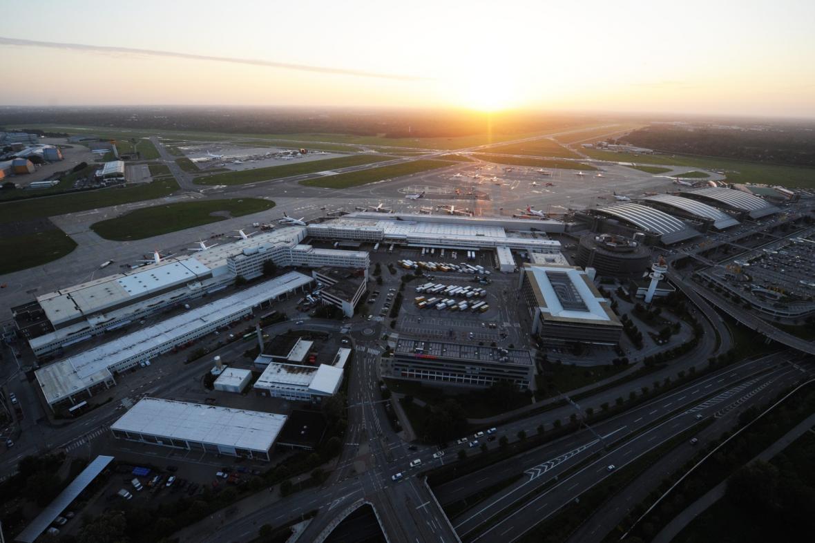 Letiště v Hamburku