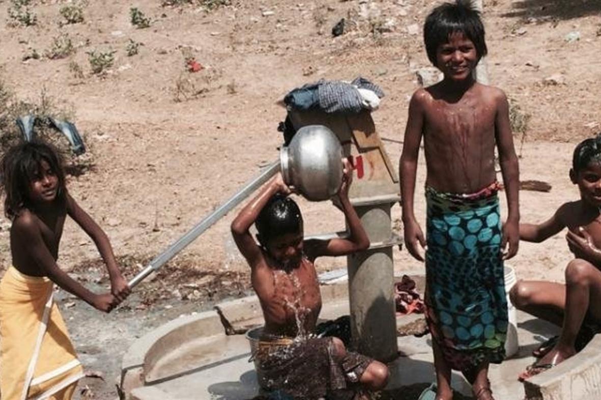 Indická studna
