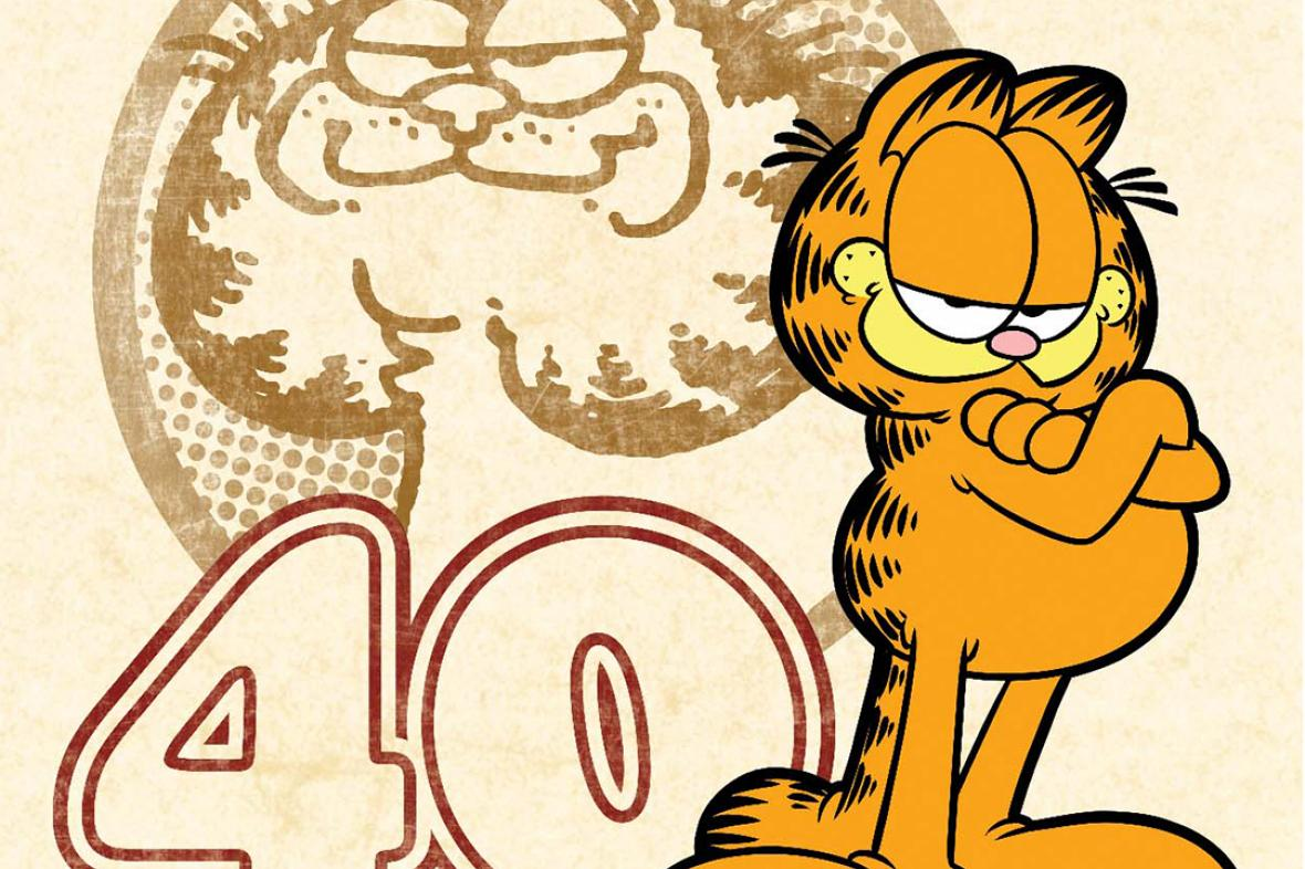 Garfield slaví 40. narozeniny