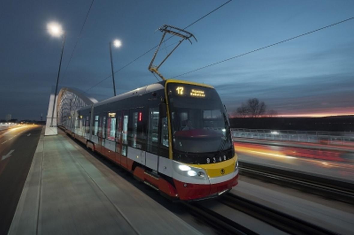 Tramvaj ze Škody Transportation