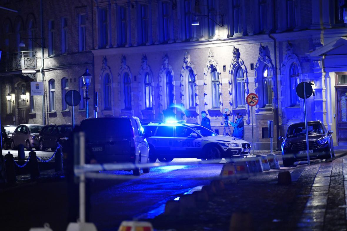 Útok na synagogu v Göteborgu