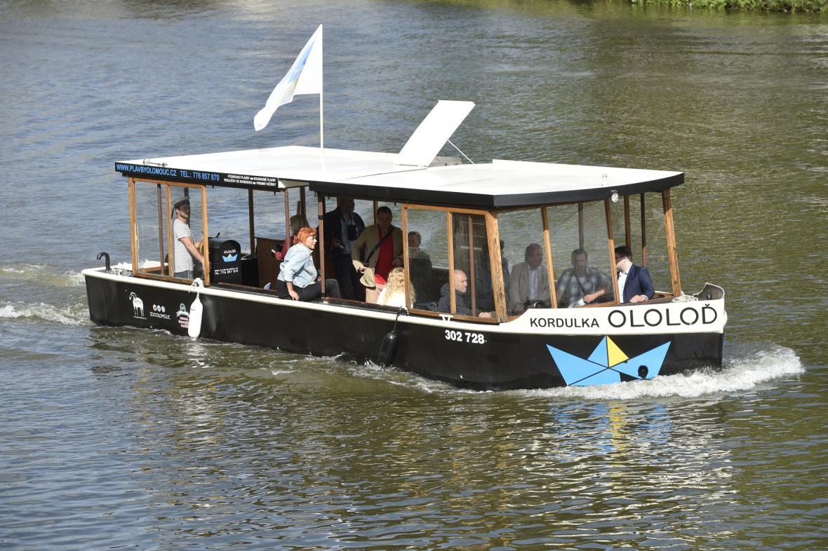 Výletní loď Ololoď Kordulka