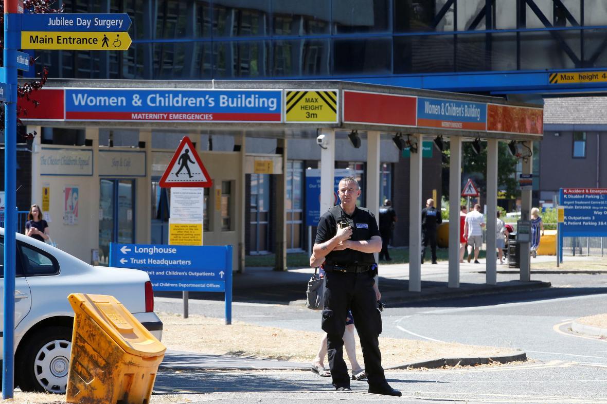 Chesterská nemocnice, kde zatčená zdravotnice pracovala