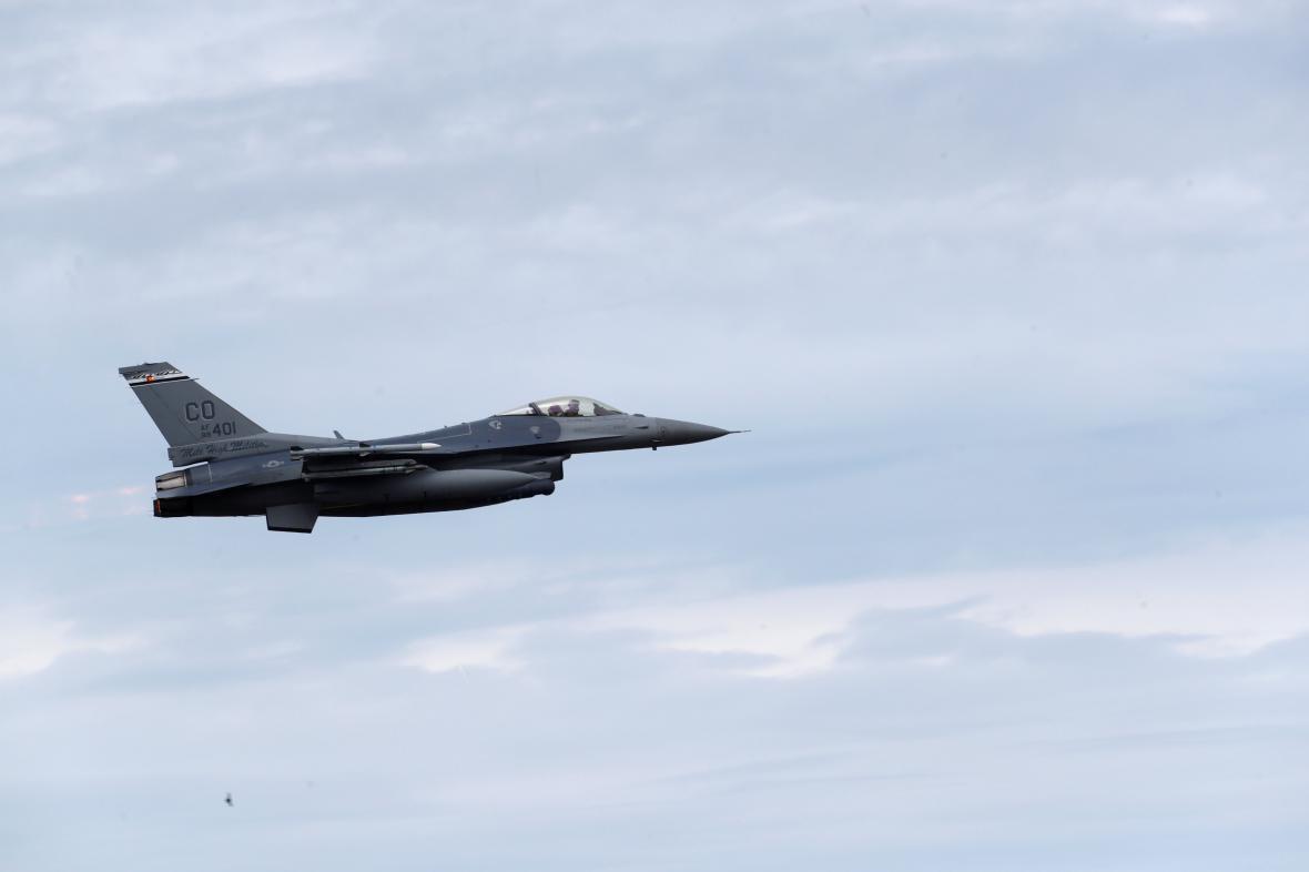 Americký stroj F-16