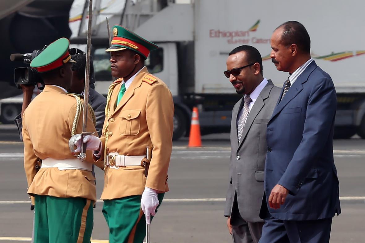Etiopský premiér s eritrejským prezidentem