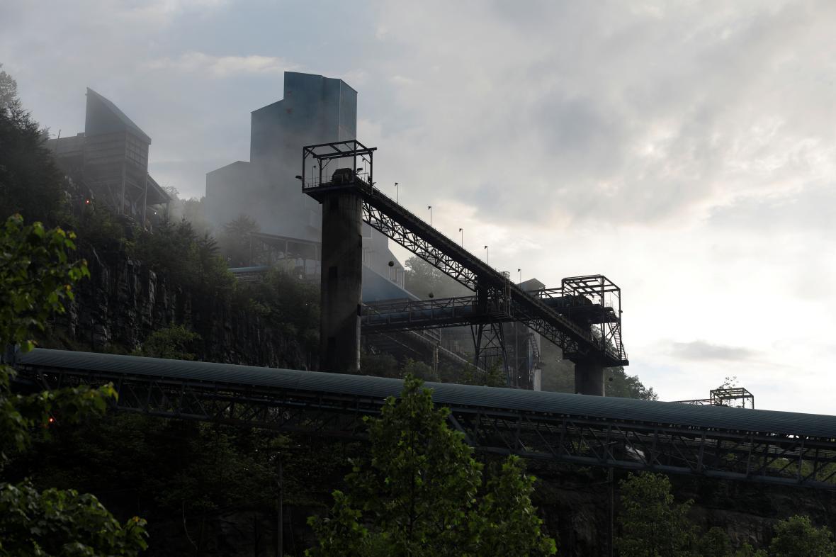 Důl v Kentucky