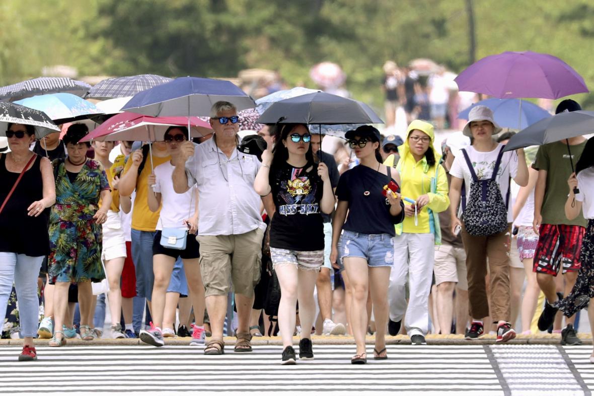Vlna veder v Japonsku