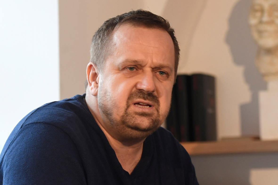 Šéfredaktor Vltavy Petr Fischer