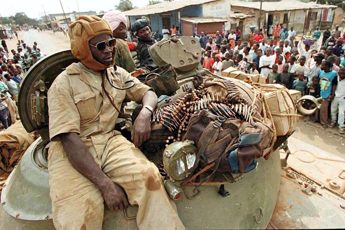 Člen konžských povstaleckých skupin