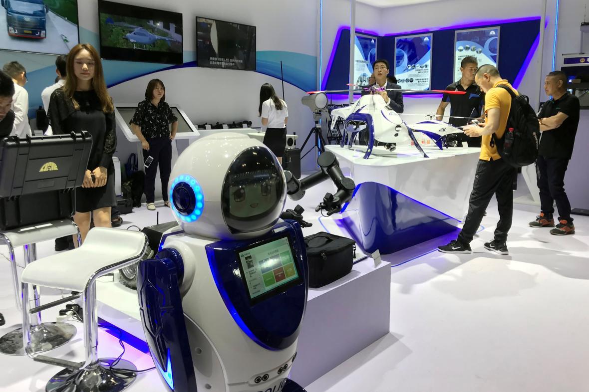 Konference robotiky v Pekingu