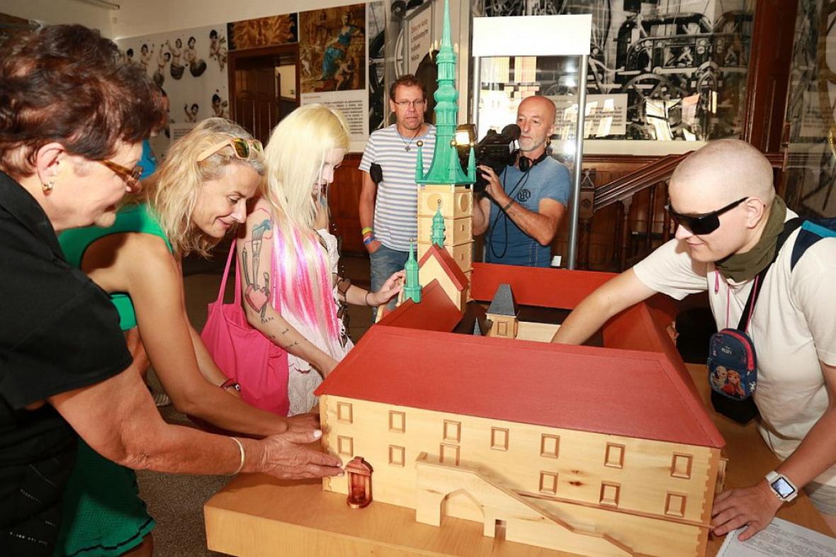 Model olomoucké radnice