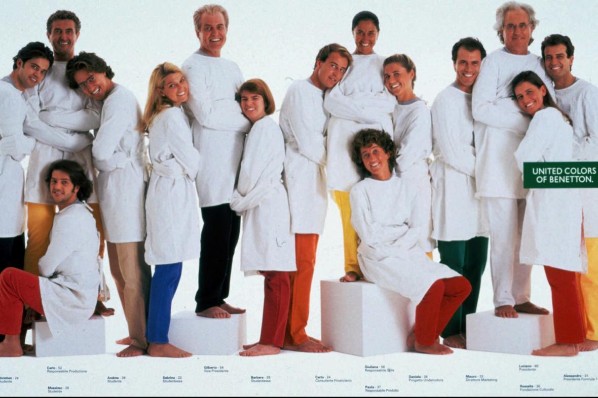 Benettonovi na fotce z roku 1996