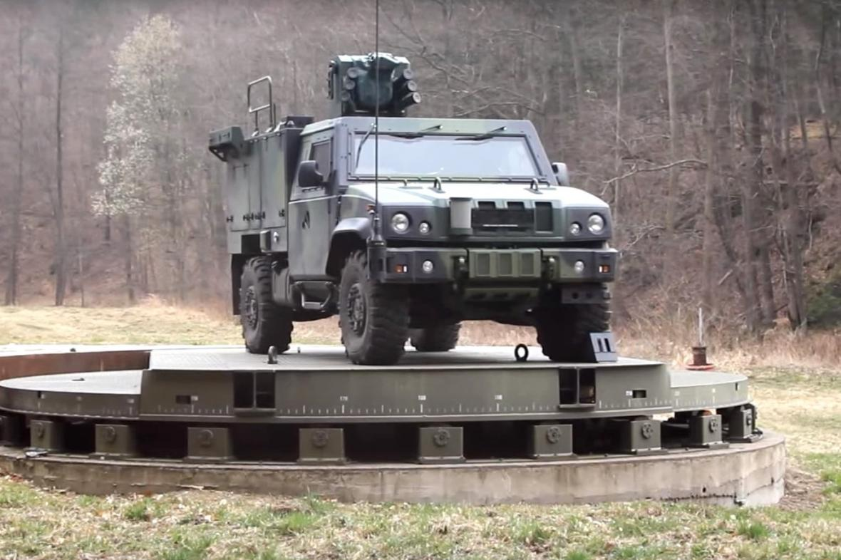 Obrněné vozidlo S-LOV-CBRN