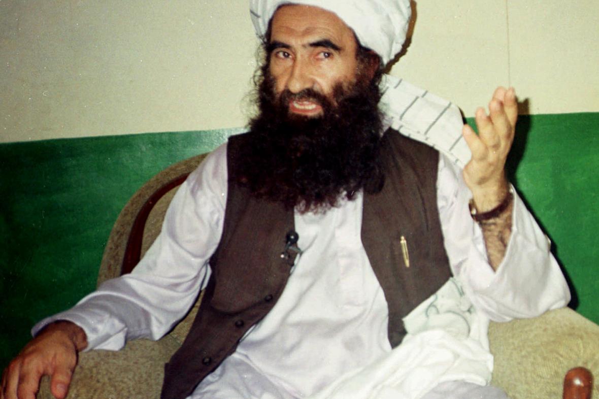 Džalaluddín Hakkání zakladatel teroristické sítě Hakkání, odnož Talibanu