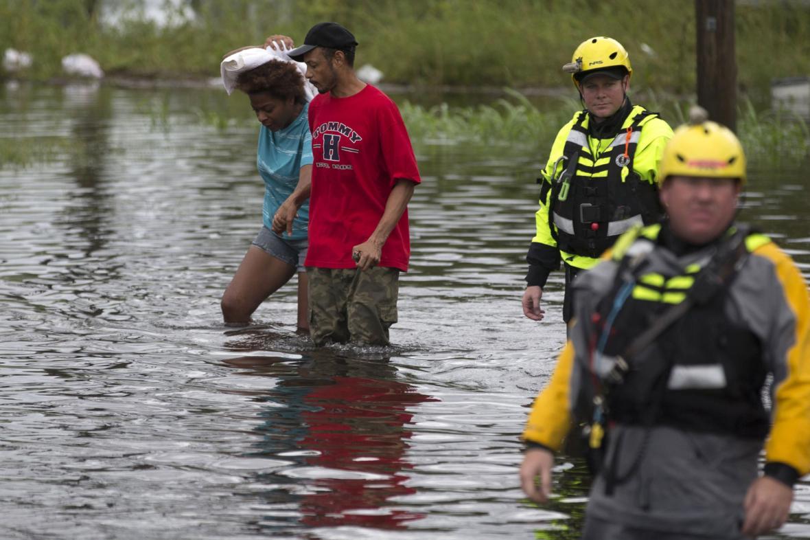 Bouře Florence přinesla katastrofální záplavy